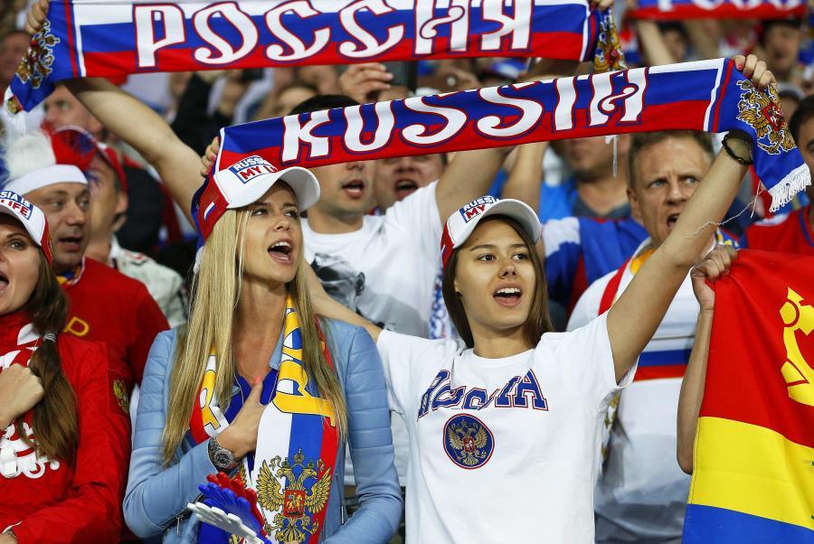 Fanki reprezentacji Rosji