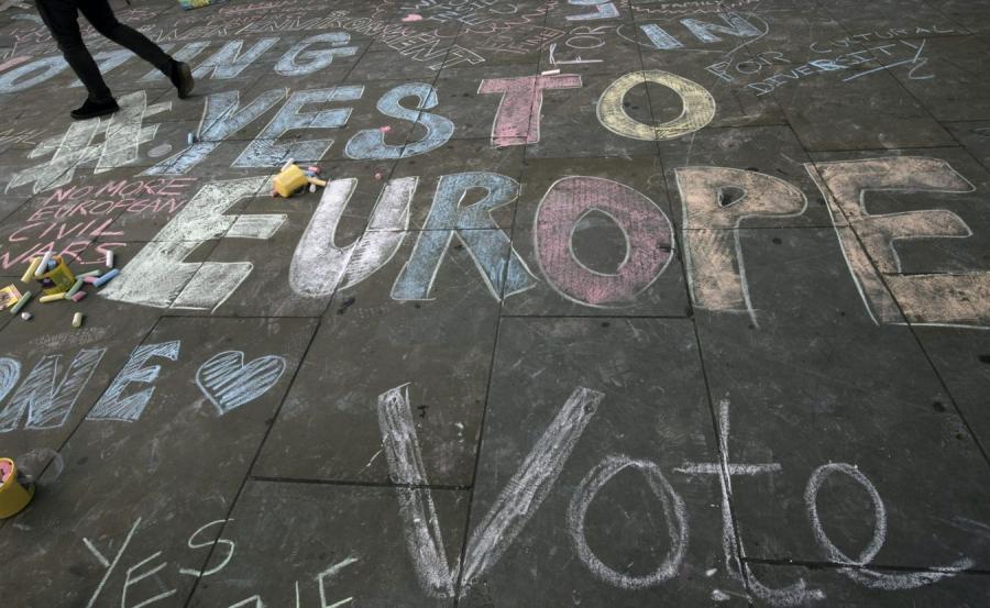 Hasła przed referendum w Wielkiej Brytanii