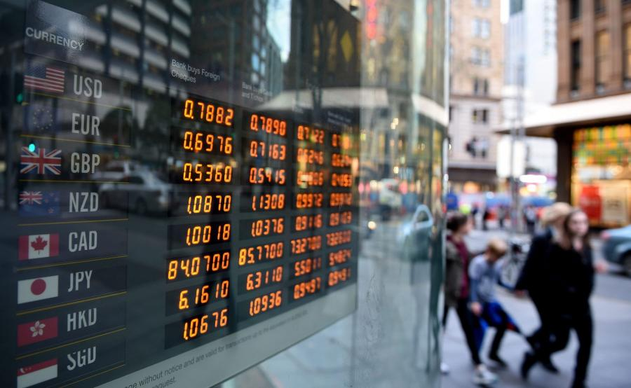 Tabela z kursami walut
