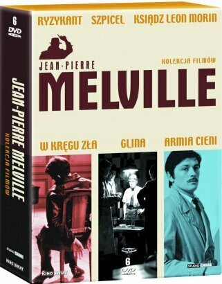 Kolekcja 6 filmów Jean-Pierre\'a Melville\'a na DVD