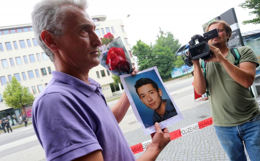 Jedna z ofiar ataku w Monachium