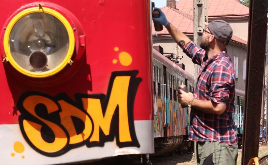 Pociąg, który będzie kursował na trasach aglomeracji krakowskiej podczas Światowych Dni Młodzieży