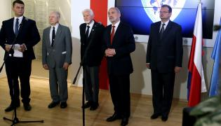 Antoni Macierewicz po spotkaniu z kombatantami