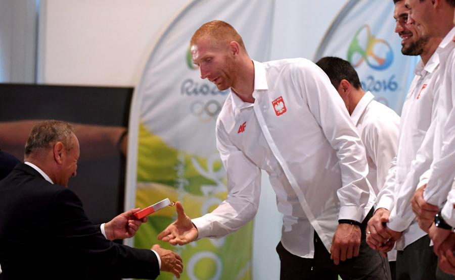 Ślubowanie olimpijczyków