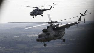 Rosyjskie śmigłowce Mi-8