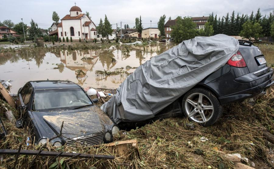 Powódź w Macedonii
