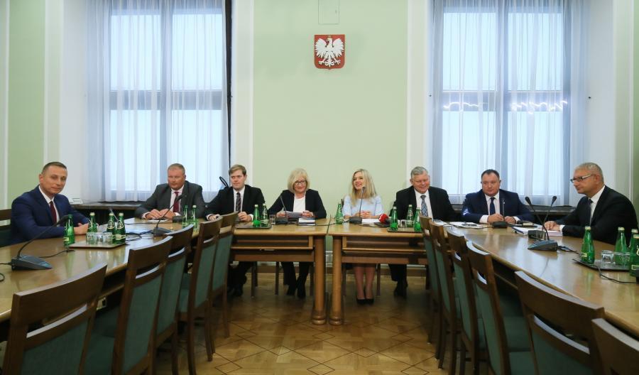 Posiedzenie komisji śledczej ds. Amber Gold