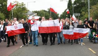 Marsz pamięci w Harlow, gdzie zamordowany został Polak