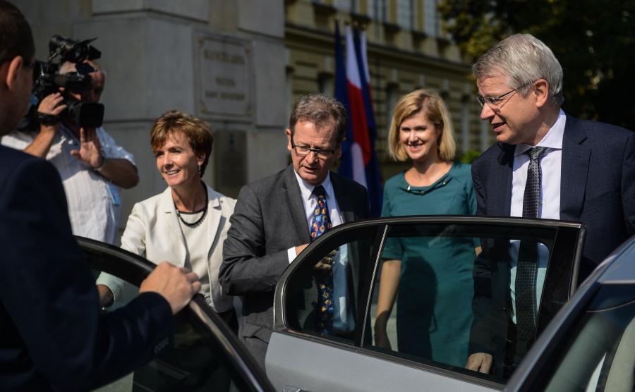 Przedstawiciele Komisji Weneckiej w Polsce