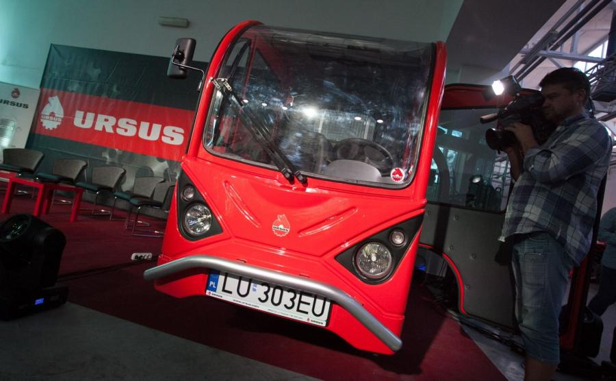 Pierwszy dostawczy samochód elektryczny Ursusa