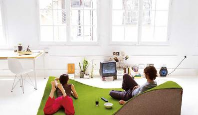 Bardzo wygodny dywan do siedzenia