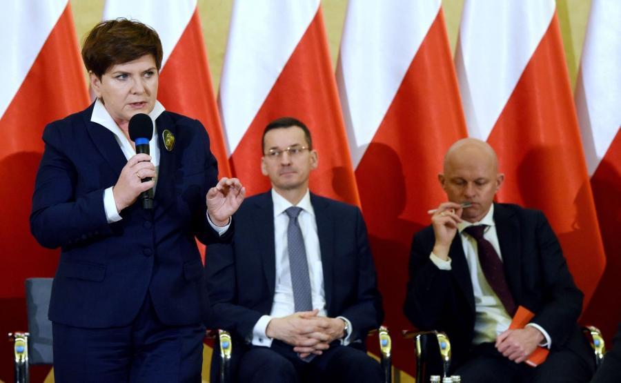Beata Szydło, Mateusz Morawiecki, Paweł Szałamacha