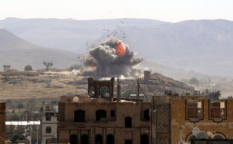 Naloty na Jemen