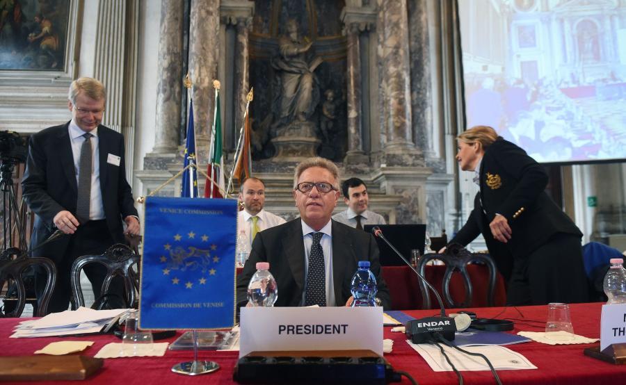 Gianni Buquicchio, przewodniczący Komisji Weneckiej
