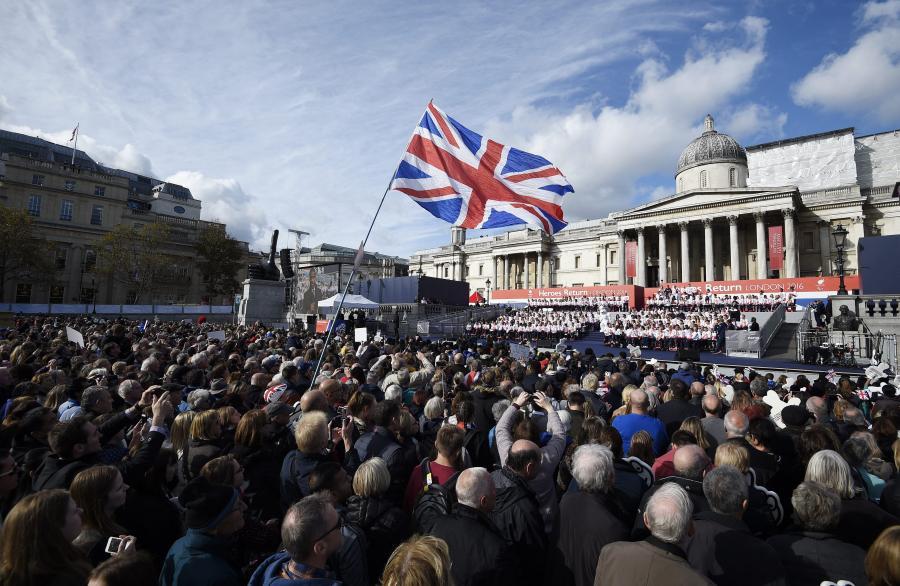 Londyn dziękuje olimpijczykom