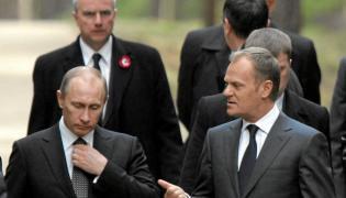 Władimir Putin i Donald Tusk