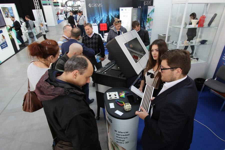 Strefa kreatywna targów INNO-TECH EXPO wypełniona
