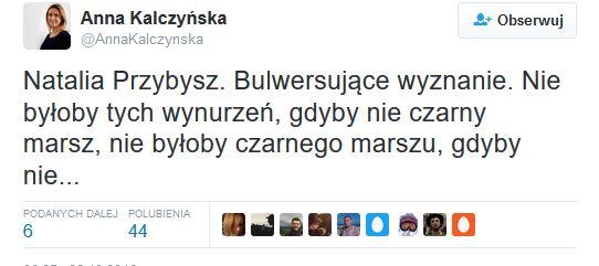twitter Anny Kalczyńskiej