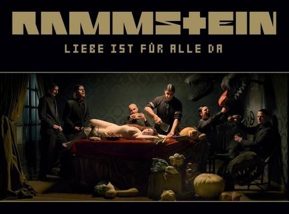 Okładka płyty grupy Rammstein - \