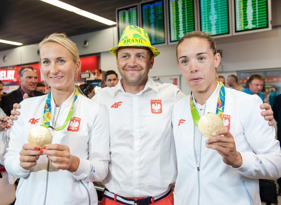 Marcin Witkowski (w środku)