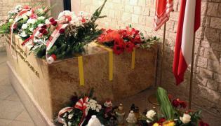 Sarkofag pary prezydenckiej na Wawelu