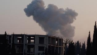 Dym nad Aleppo