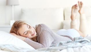 Relaks w łóżku