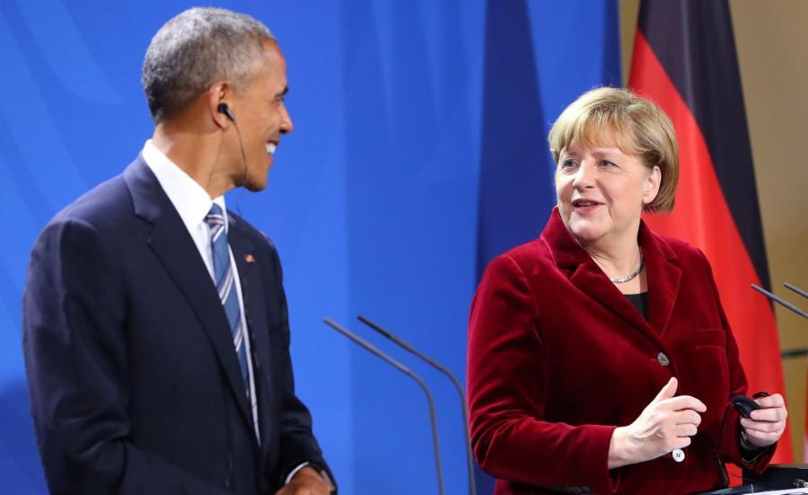 Barack Obama i Angela Merkel