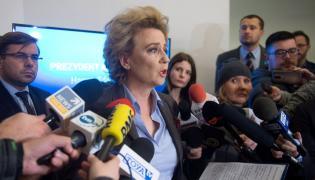 Hanna Zdanowska na konferencji