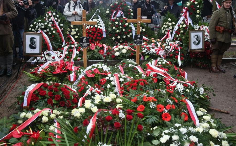 Pogrzeb na Powązkach