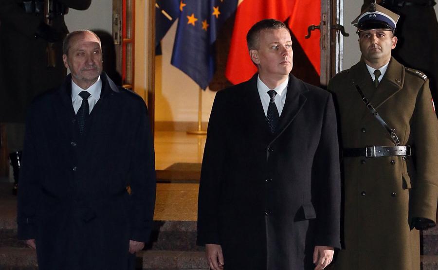 Antoni Macierewicz i Tomasz Siemoniak