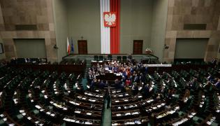 Blokada mównicy w Sejmie
