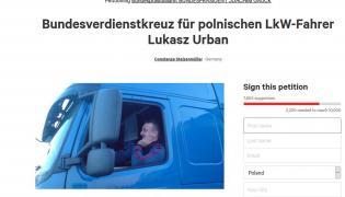 Kierowca ciężarówki Łukasz Urban próbował powstrzymać terrorystę na Breitscheidplatz w Berlinie