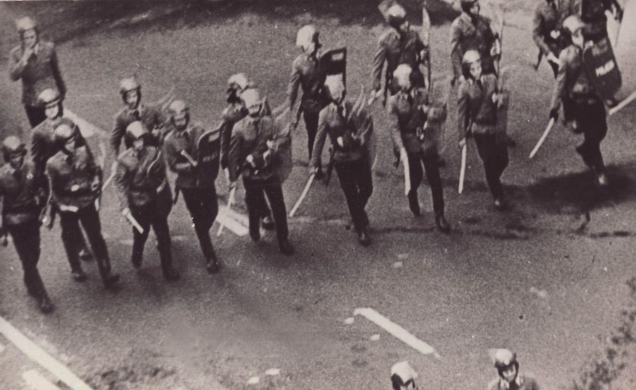 Akcja ZOMO podczas stanu wojennego