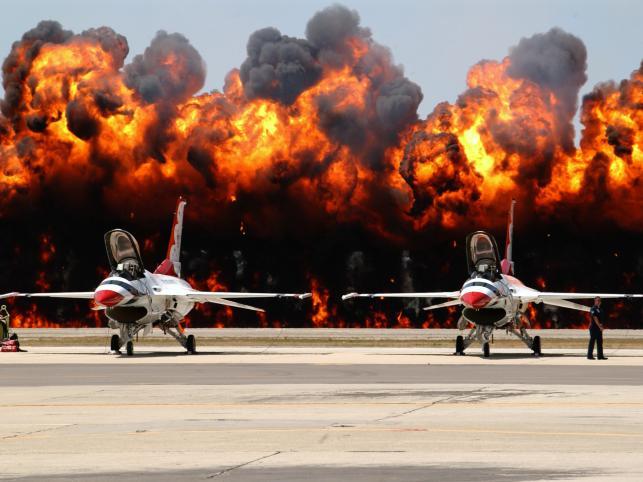 F-16 służące w siłach zbrojnych USA