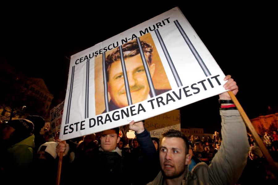 Demonstracja w Bukareszcie