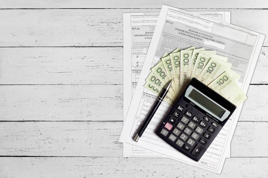 podatki, PIT, kalkulator