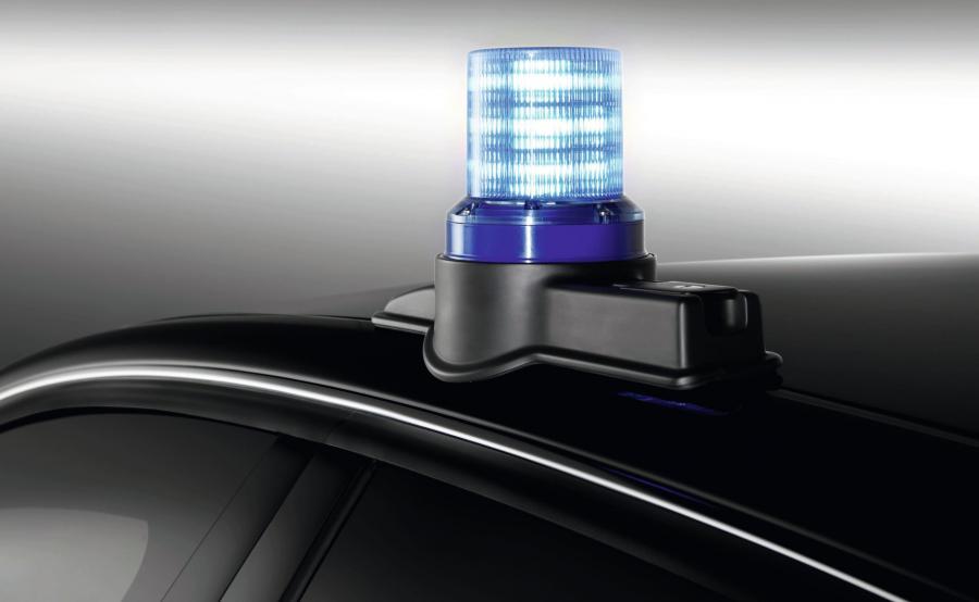 Audi A8 L Security - sygnalizacja auta uprzywilejowanego