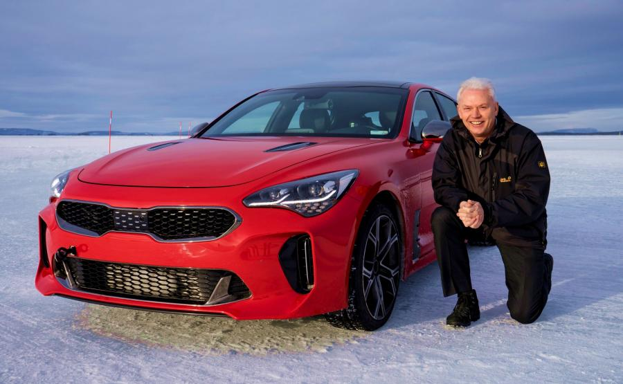 Kia stinger i Albert Biermann
