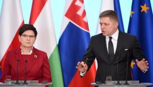 Beata Szydło i Robert Fico