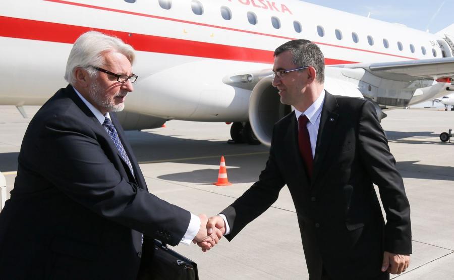 Witold Waszczykowski i Andrzej Przyłębski