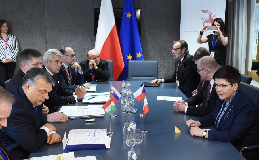 Spotkanie Viktora Orbana z Beatą Szydło