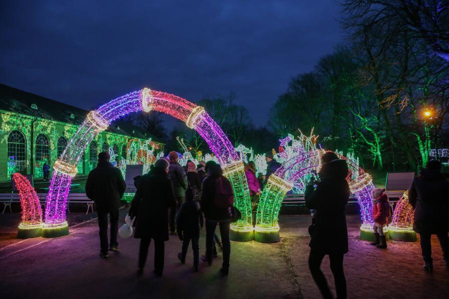 V Królewski Festiwal Światła w Wilanowie (10)